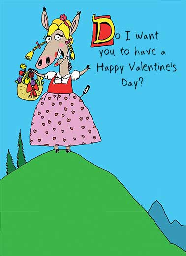 Swede Ass Funny Valentine's Day Card Cartoons   You bet your Swede Ass!